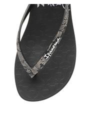 Ipanema - Art Deco 111 Black Sandal