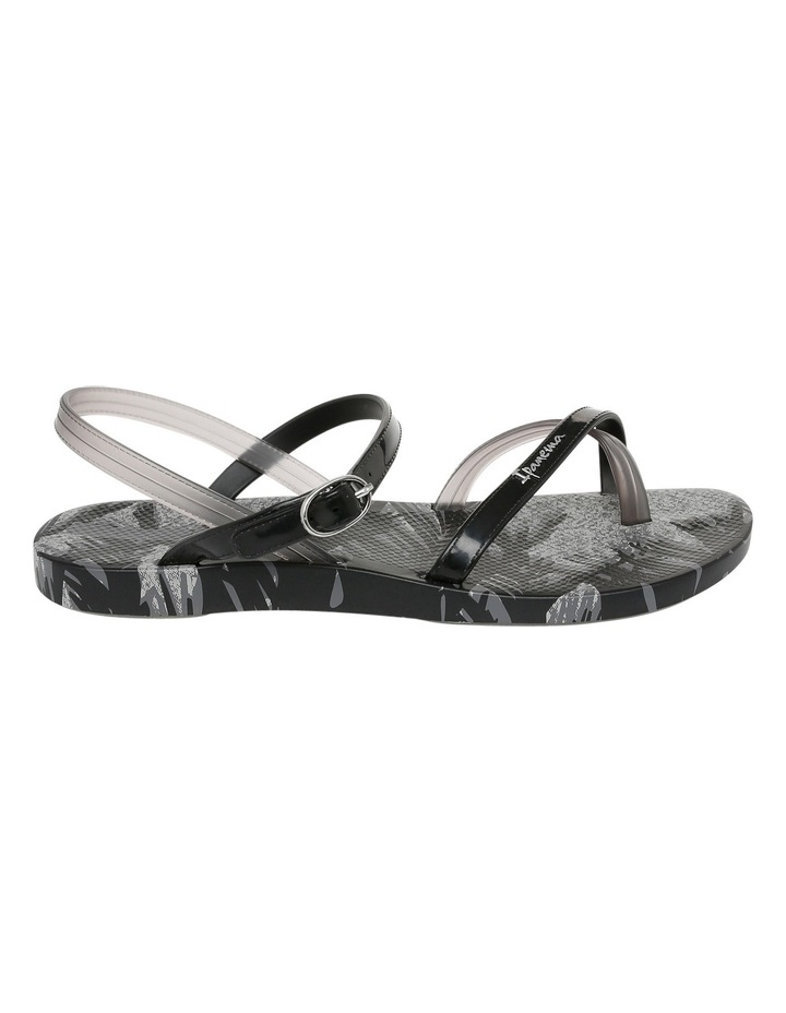 Greta Seven Black/Silver Sandal image 1