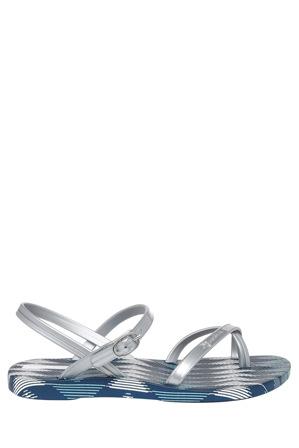Ipanema - Greta Seven Blue/Silver Sandal