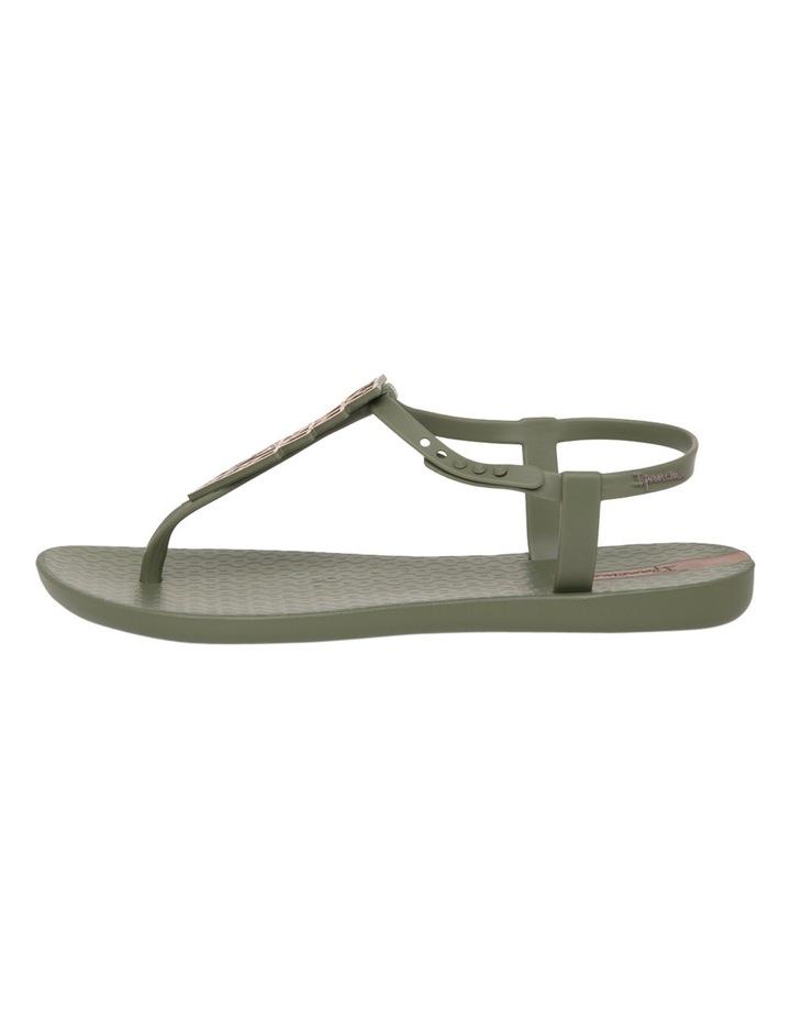 Charm Triangle Khaki Sandal image 1