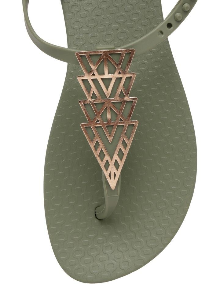 Charm Triangle Khaki Sandal image 2