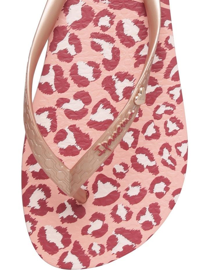 Animal Print Pink/Gold Sandal image 2