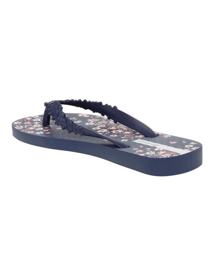 Floral Fashion Blue Sandal image 2