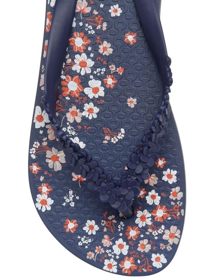 Floral Fashion Blue Sandal image 5