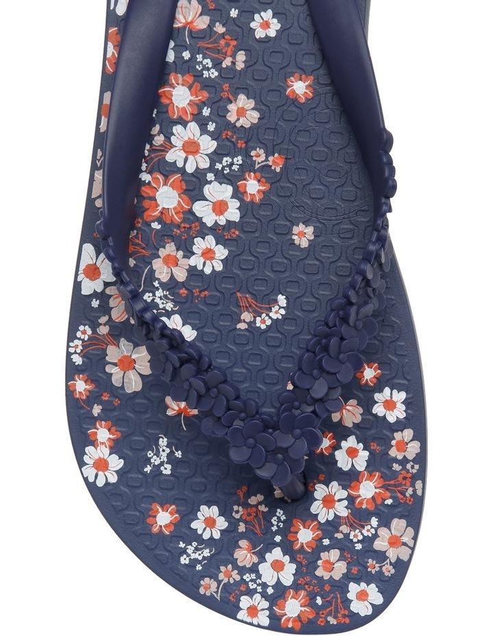 Floral Fashion Blue Sandal image 6