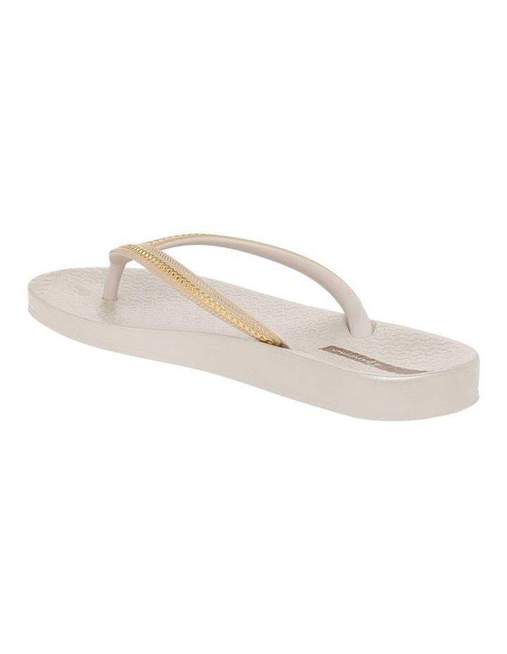 Metallic White Sandal image 2