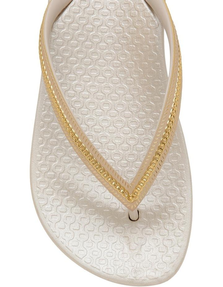 Metallic White Sandal image 3