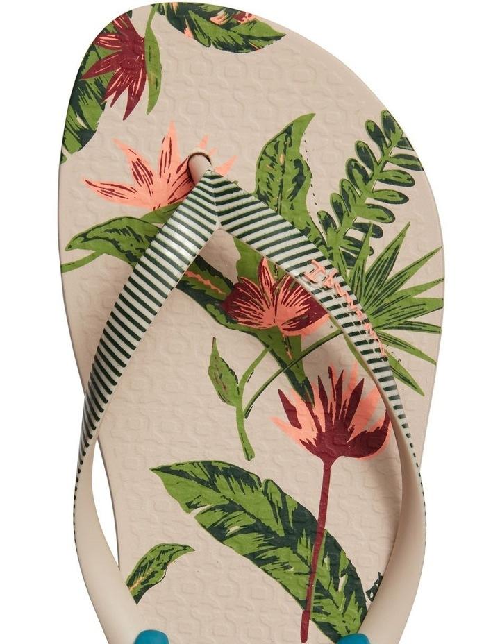 Tropical Fem White Thong image 4