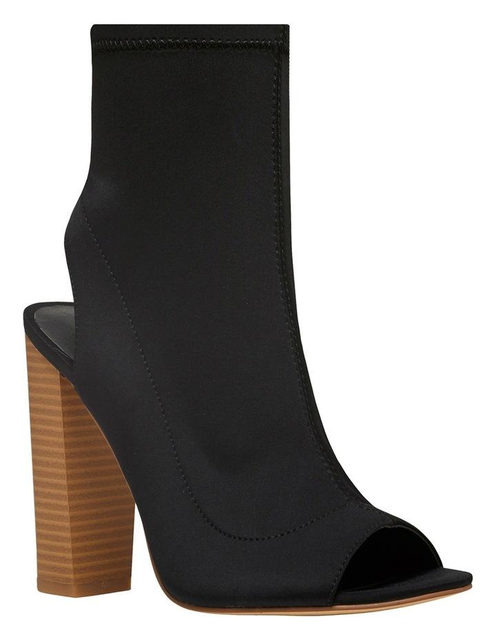Glitch Black Lycra Boot image 2