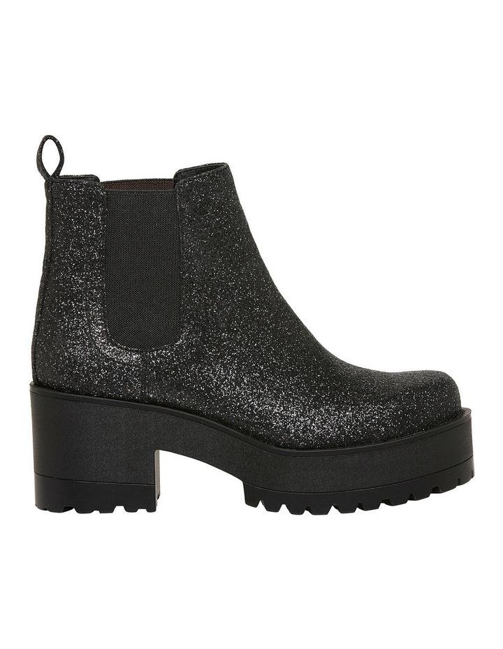 Elita Black Glitter Boot image 1