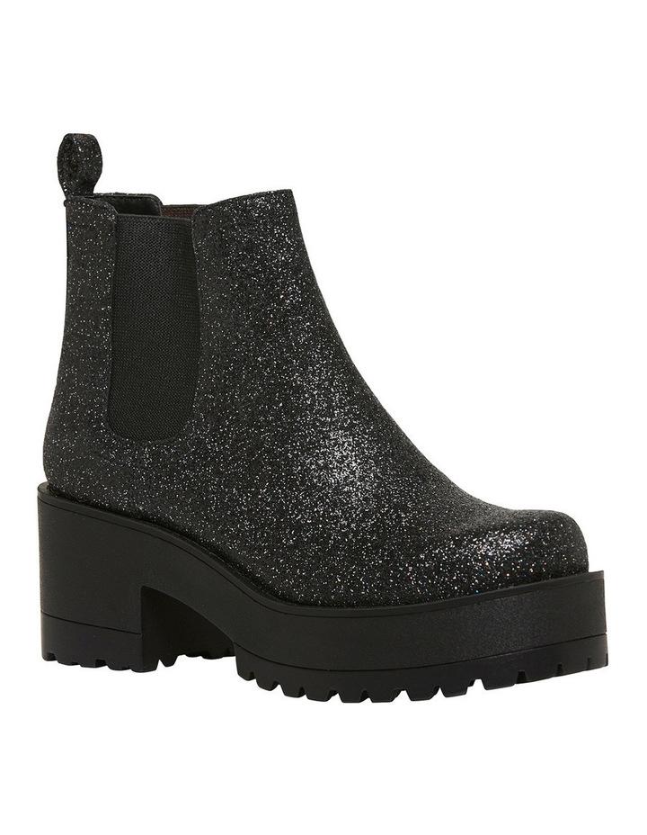 Elita Black Glitter Boot image 2