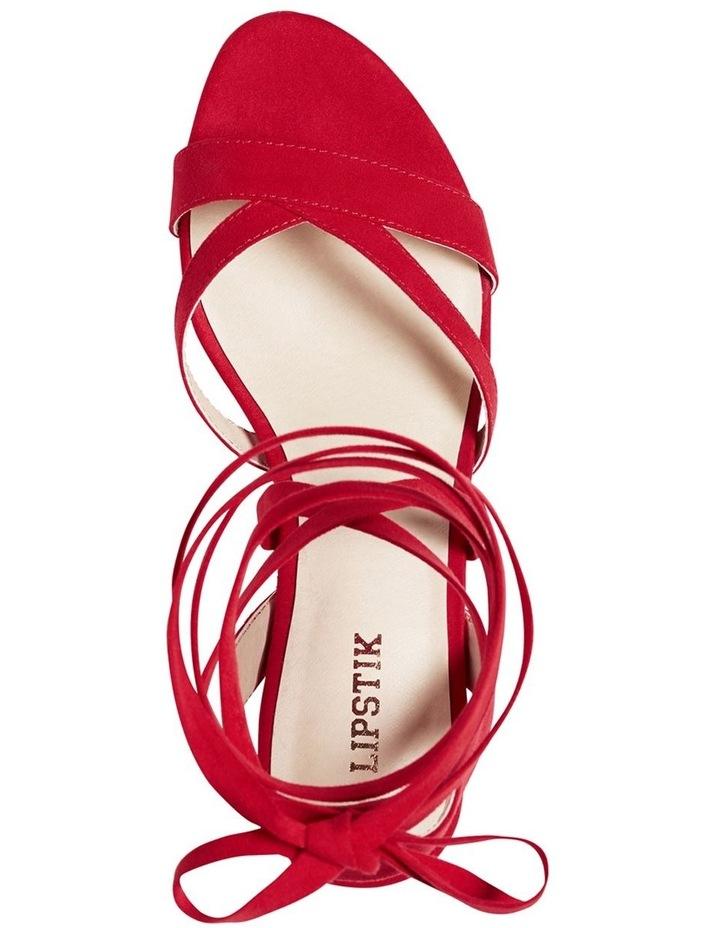 Maxine Red Sandal image 5