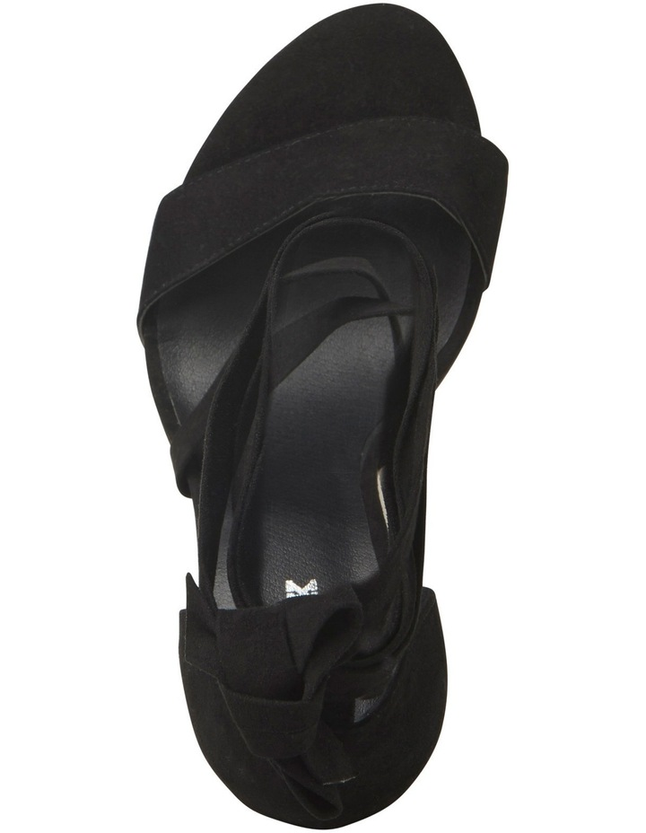 Gael Black Micro Sandal image 3