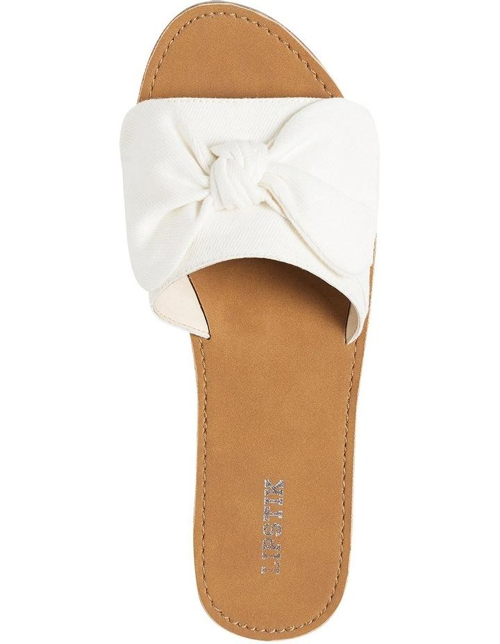 Brielle white sandal image 3