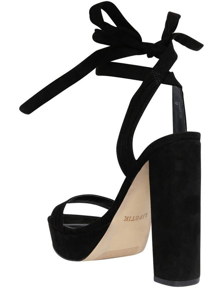 Biana Black Micro Sandal image 2