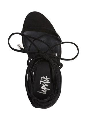 Lipstik - Ibbie Black Sandal