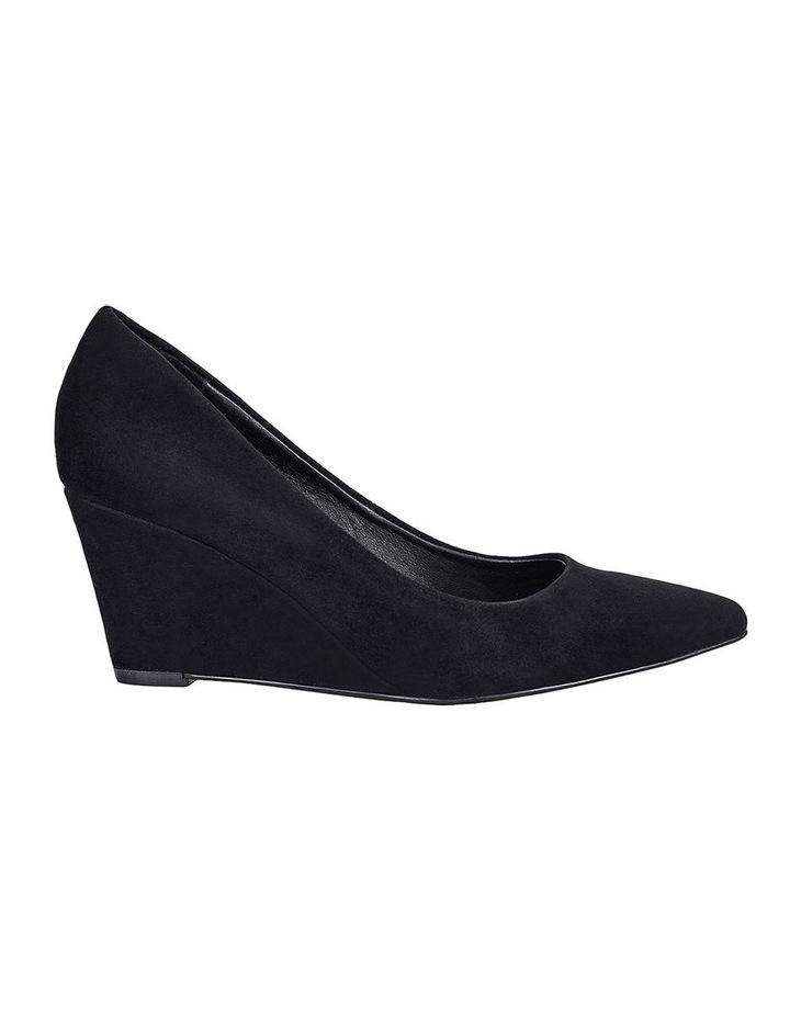Brodie Black Suede Heeled Shoes image 1