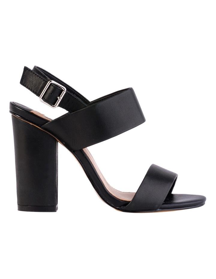 Goddess Black Smooth Sandal image 1