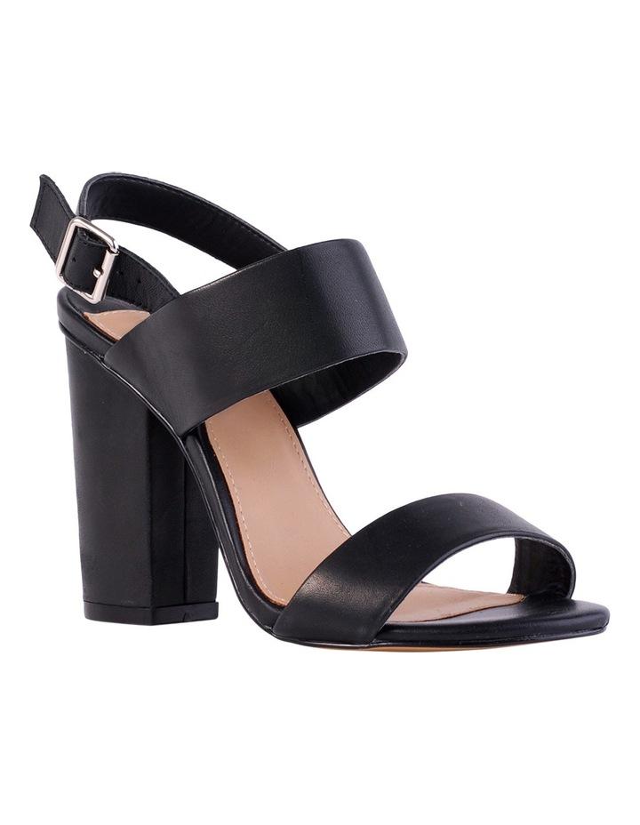 Goddess Black Smooth Sandal image 2
