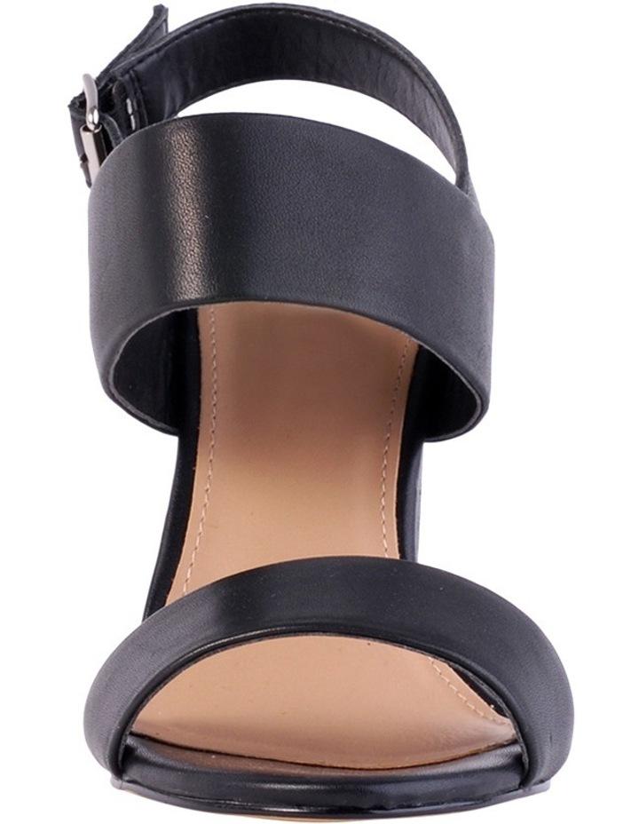 Goddess Black Smooth Sandal image 4