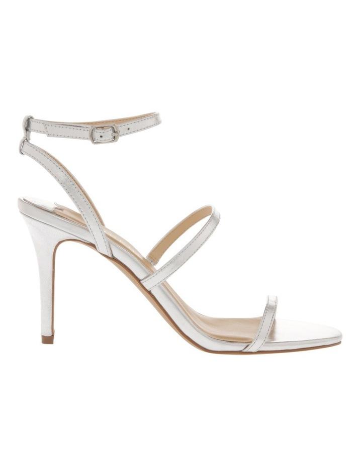 Deva Silver Leather Sandal image 1