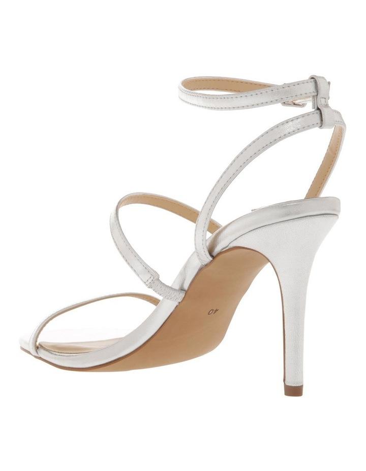 Deva Silver Leather Sandal image 2
