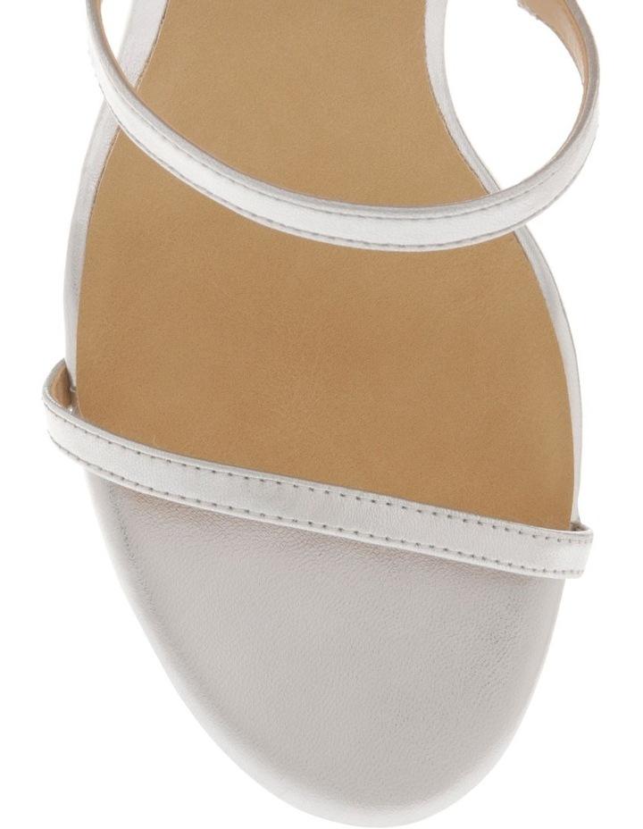 Deva Silver Leather Sandal image 3