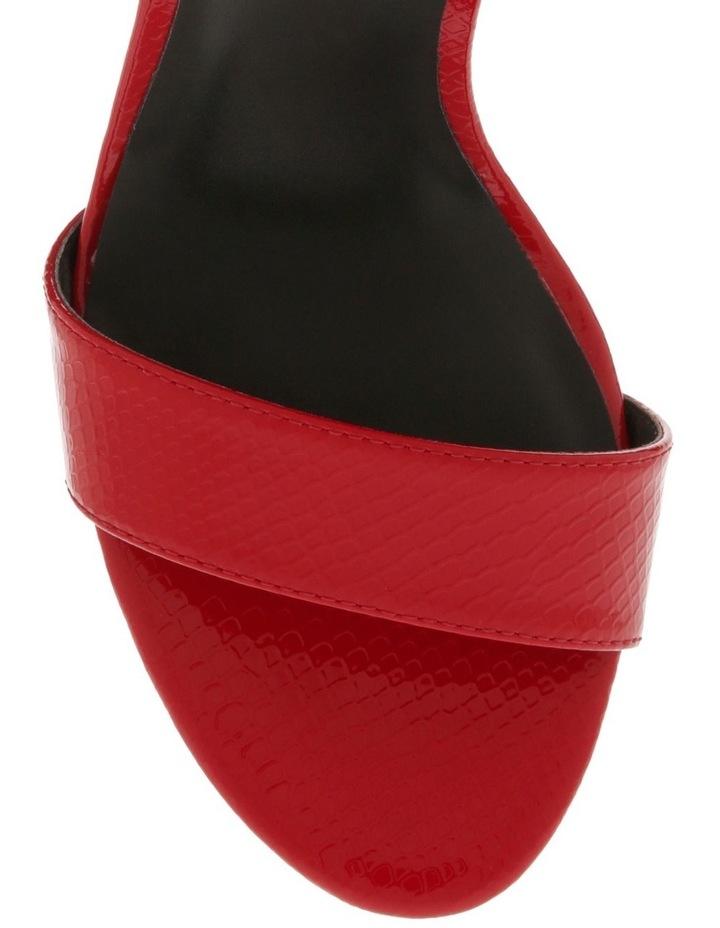 Kuwait Chilli Patent Reptile Sandal image 3