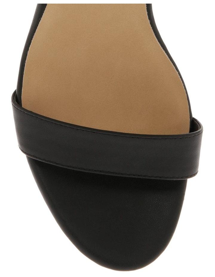 Fender Black Leather Sandal image 3