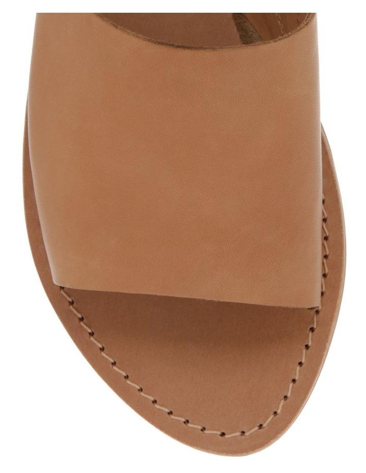 Tory Tan Leather Sandal image 3