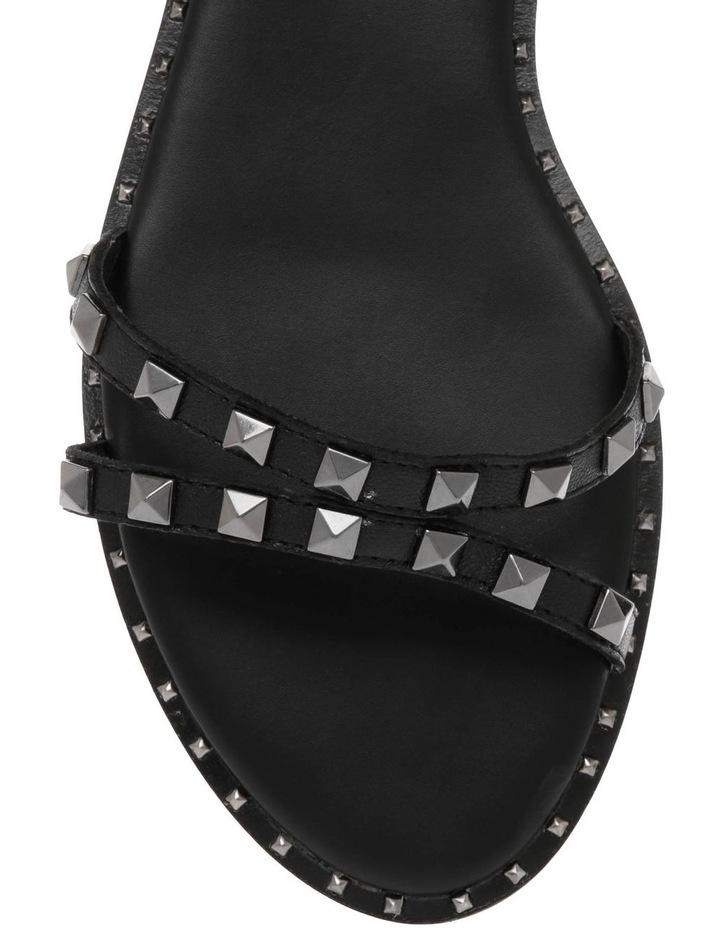 Bingo Black Nappa Sandal image 3