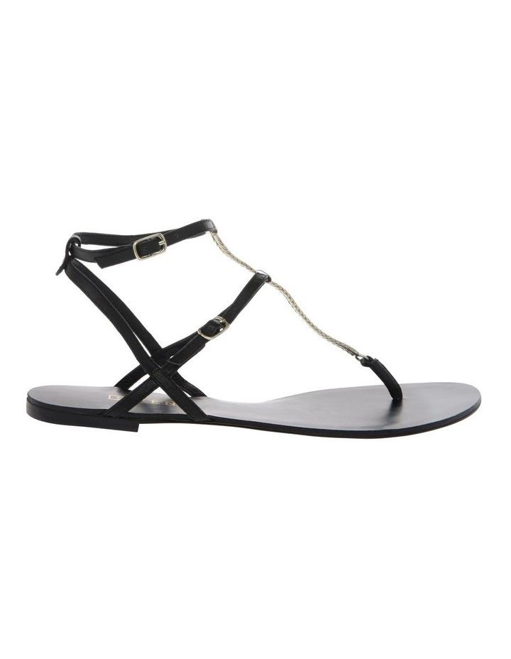 Serra II Black Leather Sandal image 1