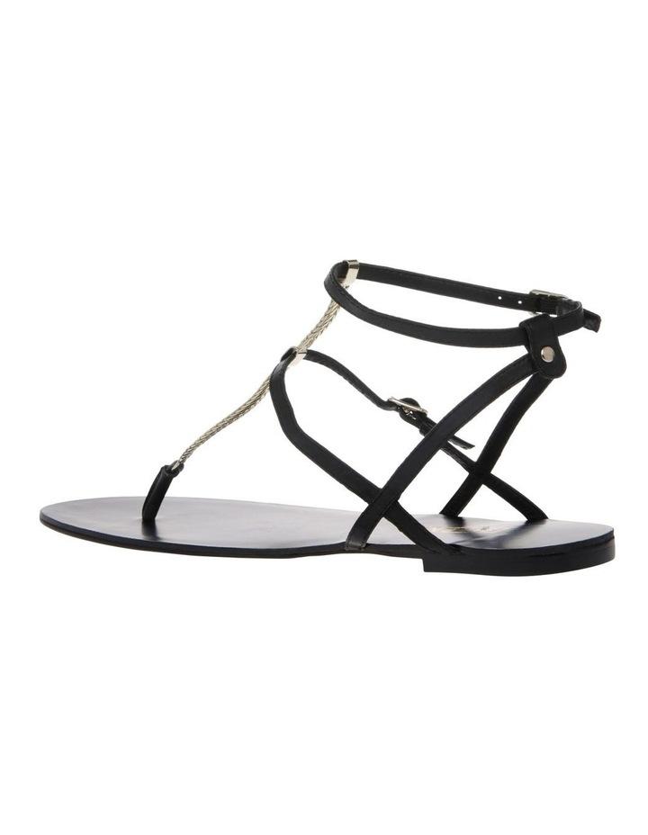 Serra II Black Leather Sandal image 2