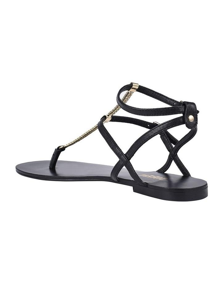 Serra II Black Leather Sandal image 3