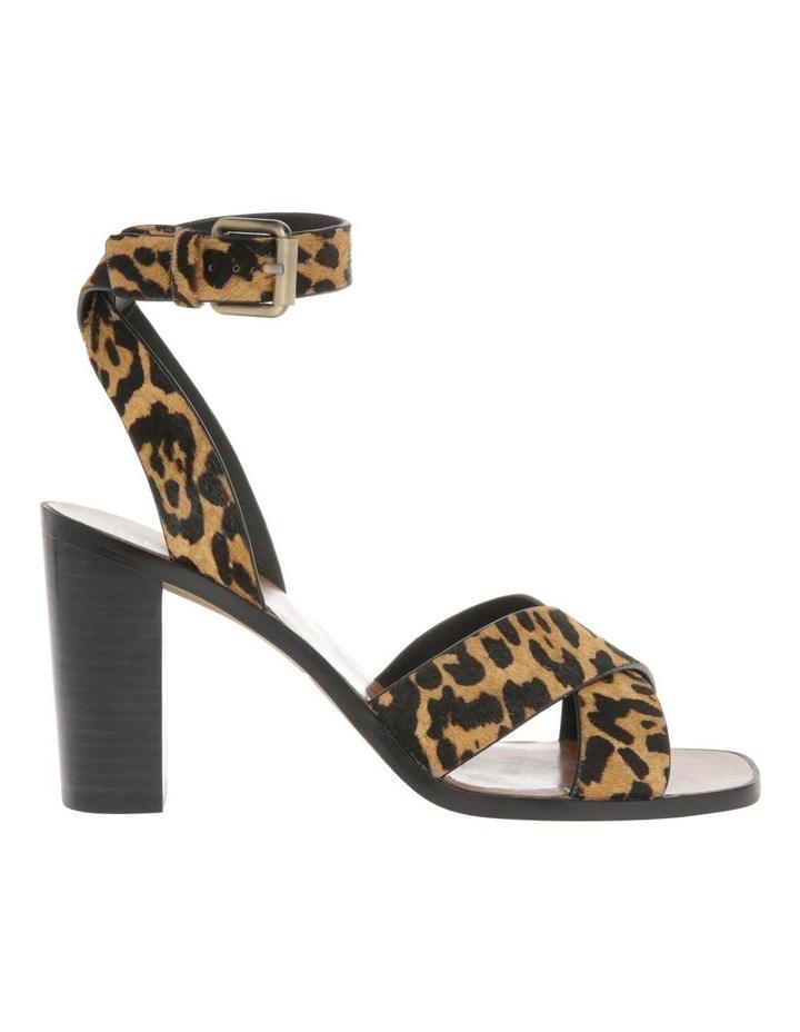 Karlie Leopard Pony Sandal image 1