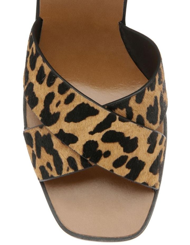 Karlie Leopard Pony Sandal image 3