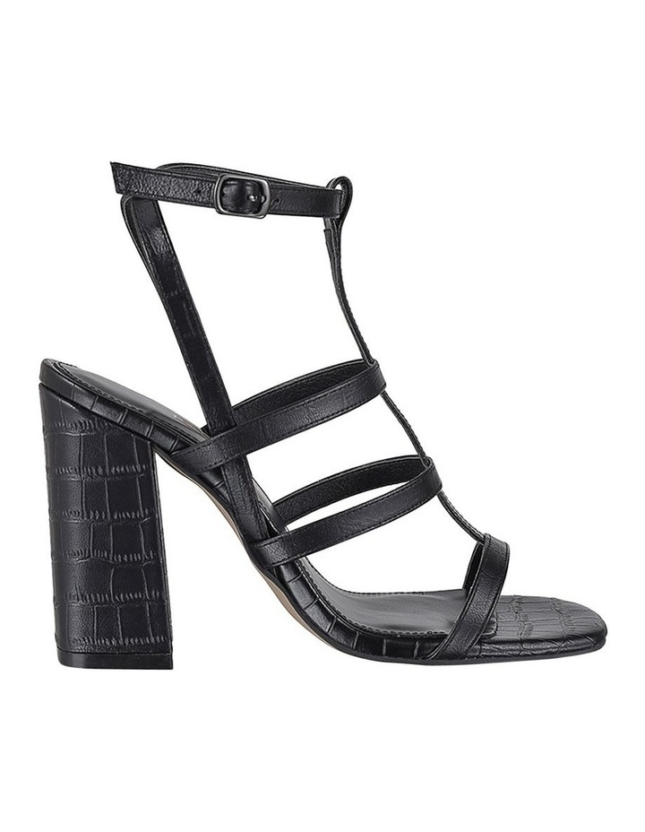 Kristy Black Croc Sandal image 1