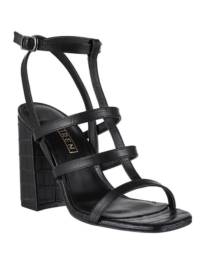 Kristy Black Croc Sandal image 2