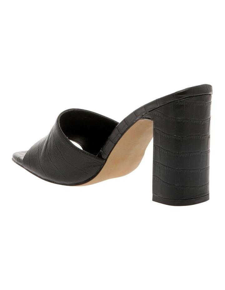 Lava Black Croc Sandal image 2