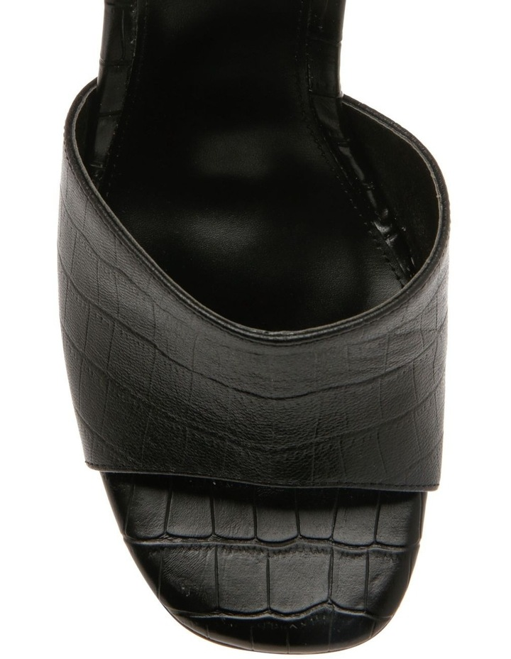 Lava Black Croc Sandal image 3
