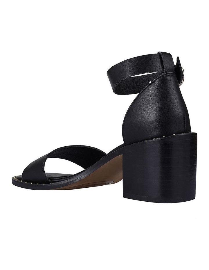 Garner Black Leather Sandal image 2