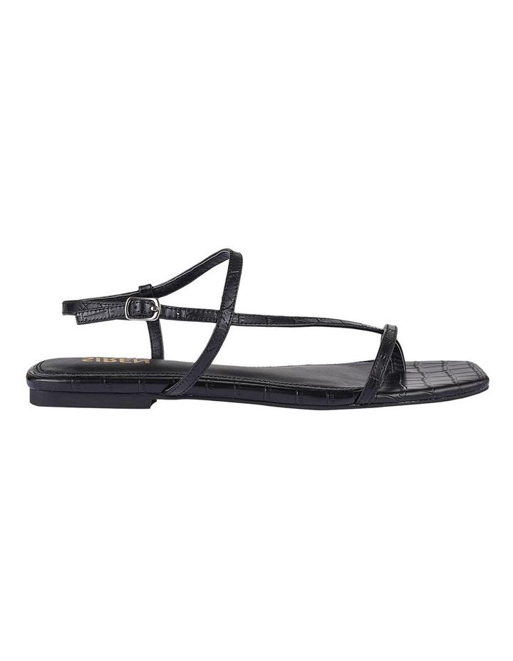Sahara Black Croc Sandal image 1