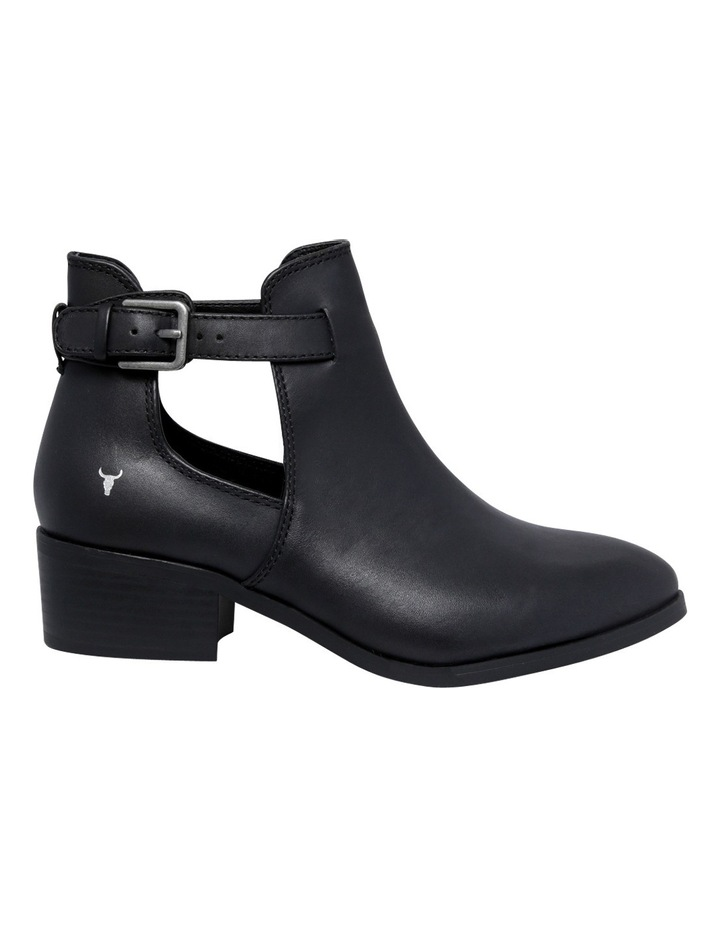 Reina Black Leather Boot image 1