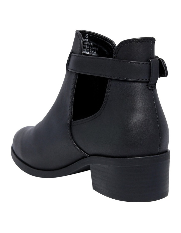 Reina Black Leather Boot image 2