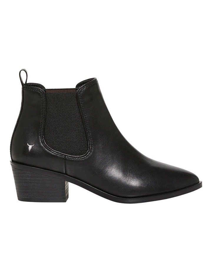 Jordy Black Leather Boot image 1