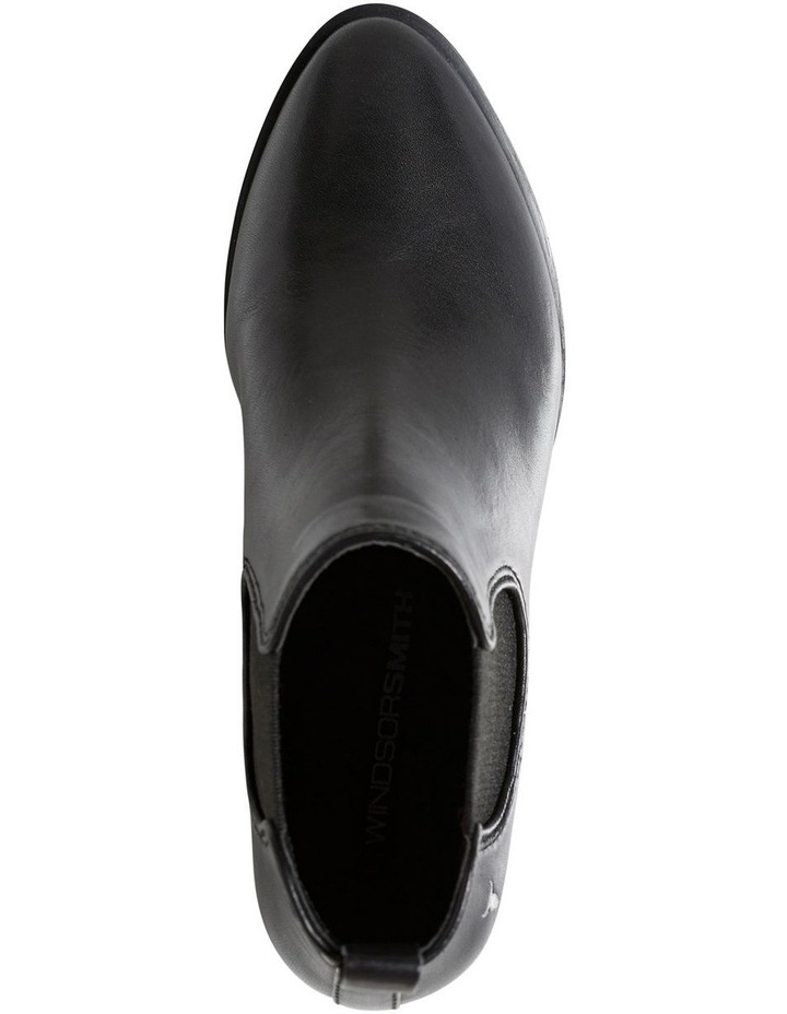 Jordy Black Leather Boot image 5