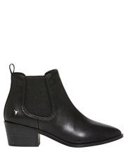 Windsor Smith - Jordy Black Leather Boot