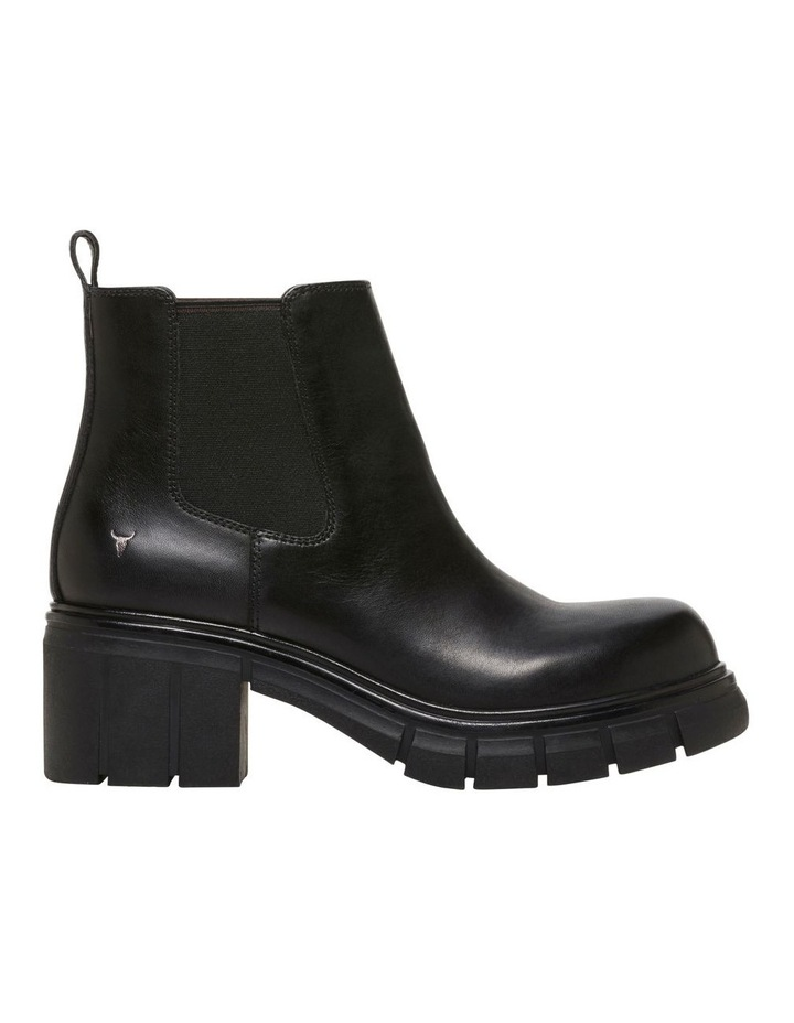 Dirrty Black Leather Boot image 1