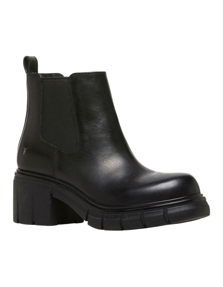 Dirrty Black Leather Boot image 2