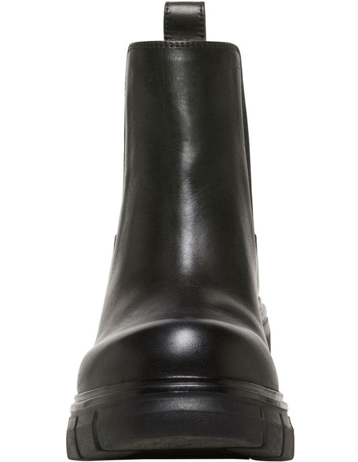 Dirrty Black Leather Boot image 5